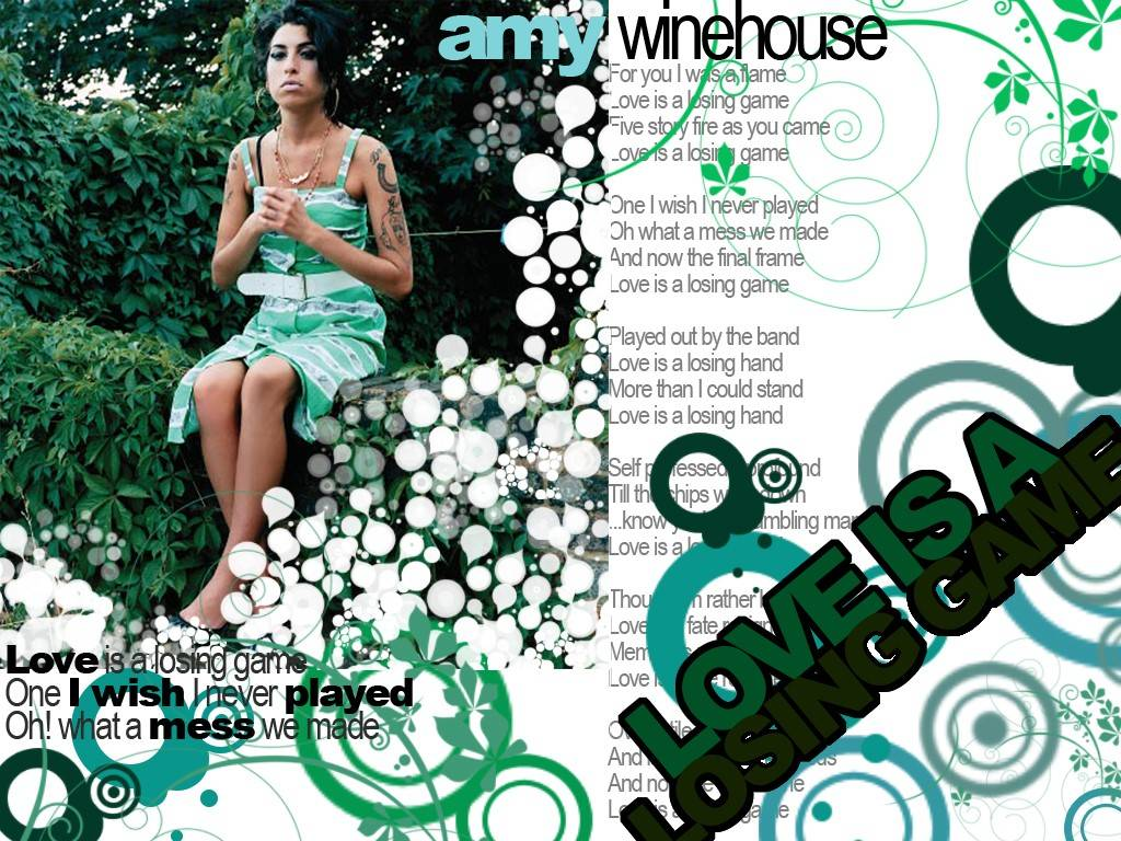 Amy winehouse i love you more than you ever know letra español