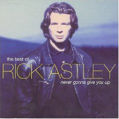 Álbum Never Gonna Give You Up: The Best of Rick Astley