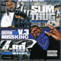 Álbum Boss King, Southern Lean, Vol.3