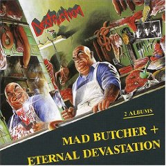 Álbum Destruction: Mad Butcher+Eternal Devastation (2 Albums)