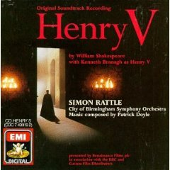 Álbum Henry V: Original Soundtrack Recording (1989 Film)