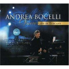 Álbum Vivere Live in Tuscany [CD/DVD]