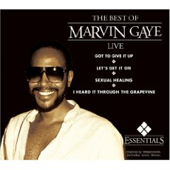 Álbum The Best of Marvin Gaye Live