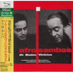 Álbum Os Afro-Sambas de Baden e Vinicius