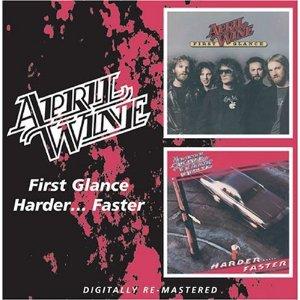 Álbum First Glance/Harder...Faster