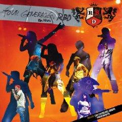 Álbum Tour Generación RBD en Vivo