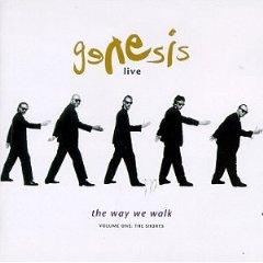 Álbum Genesis Live: The Way We Walk, Vol. 1 (The Shorts)