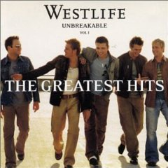 Álbum Westlife - Unbreakable: Greatest Hits V.1 (+1 Bonus