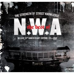 Álbum NWA: The best of N.W.A - The Strength Of Street Knowledge (CD/DVD)