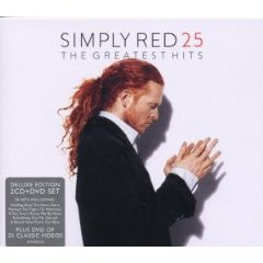 Álbum Simply Red The Greatest Hit's 25 (Deluxe 2 CD/DVD Edition) (PAL/Region 2)
