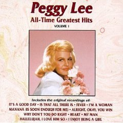 Álbum Peggy Lee - All-Time Greatest Hits