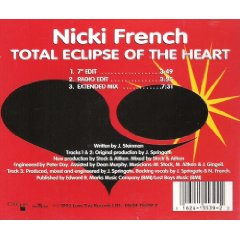Álbum Total Eclipse of the Heart